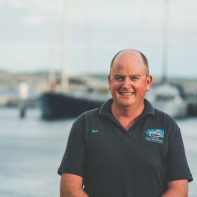 Tasmanian Wild Seafood Adventures Co-Founder - Nick Daft